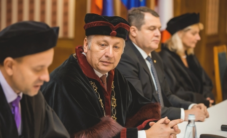 Faculty of Business Administration at the Czech Republic Fair in Moscow