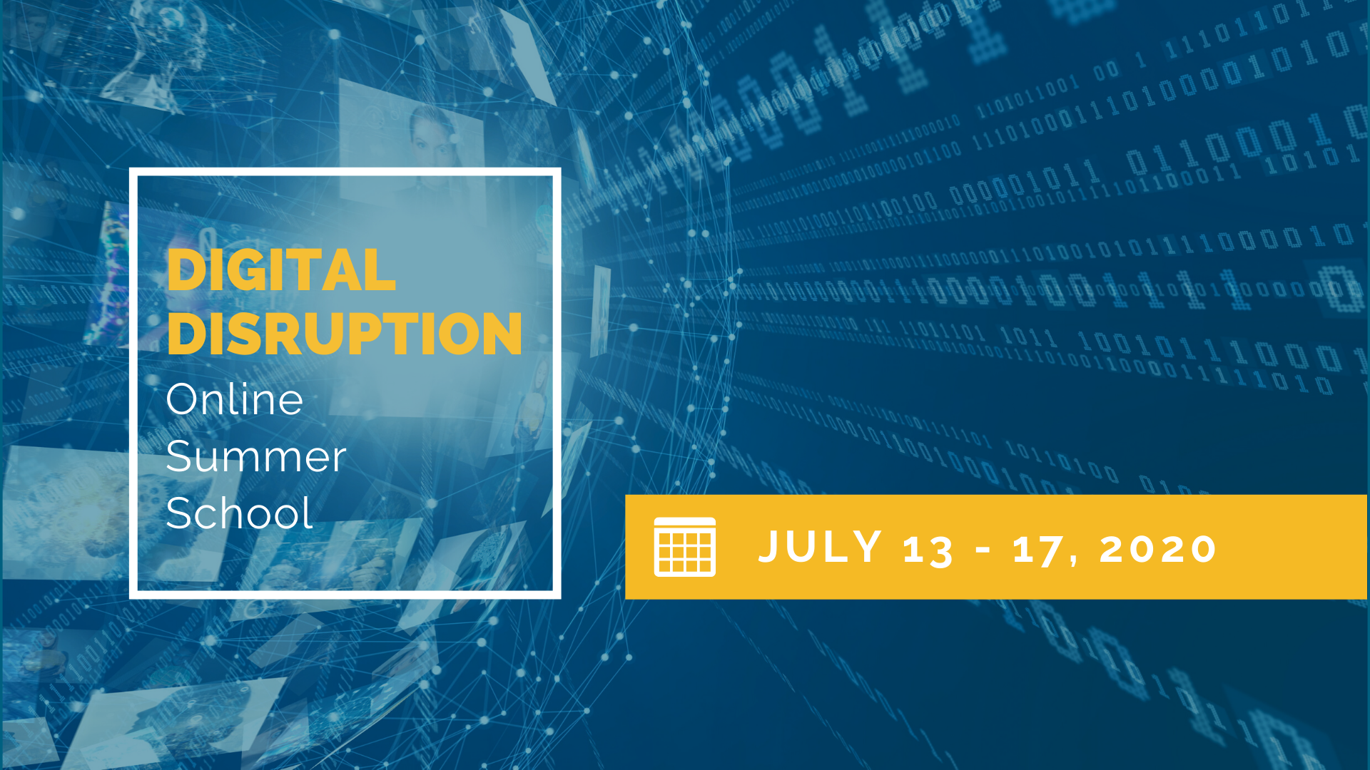 Online Summer School at Faculty of Business Adminsitration: Digital Disruption