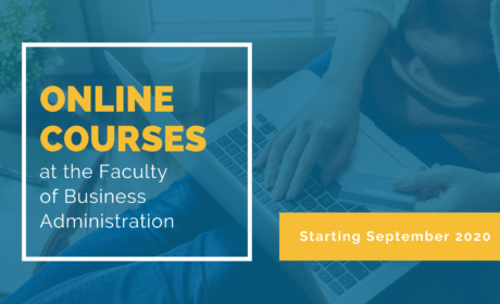 Online courses at the Faculty of Business Administration open to public