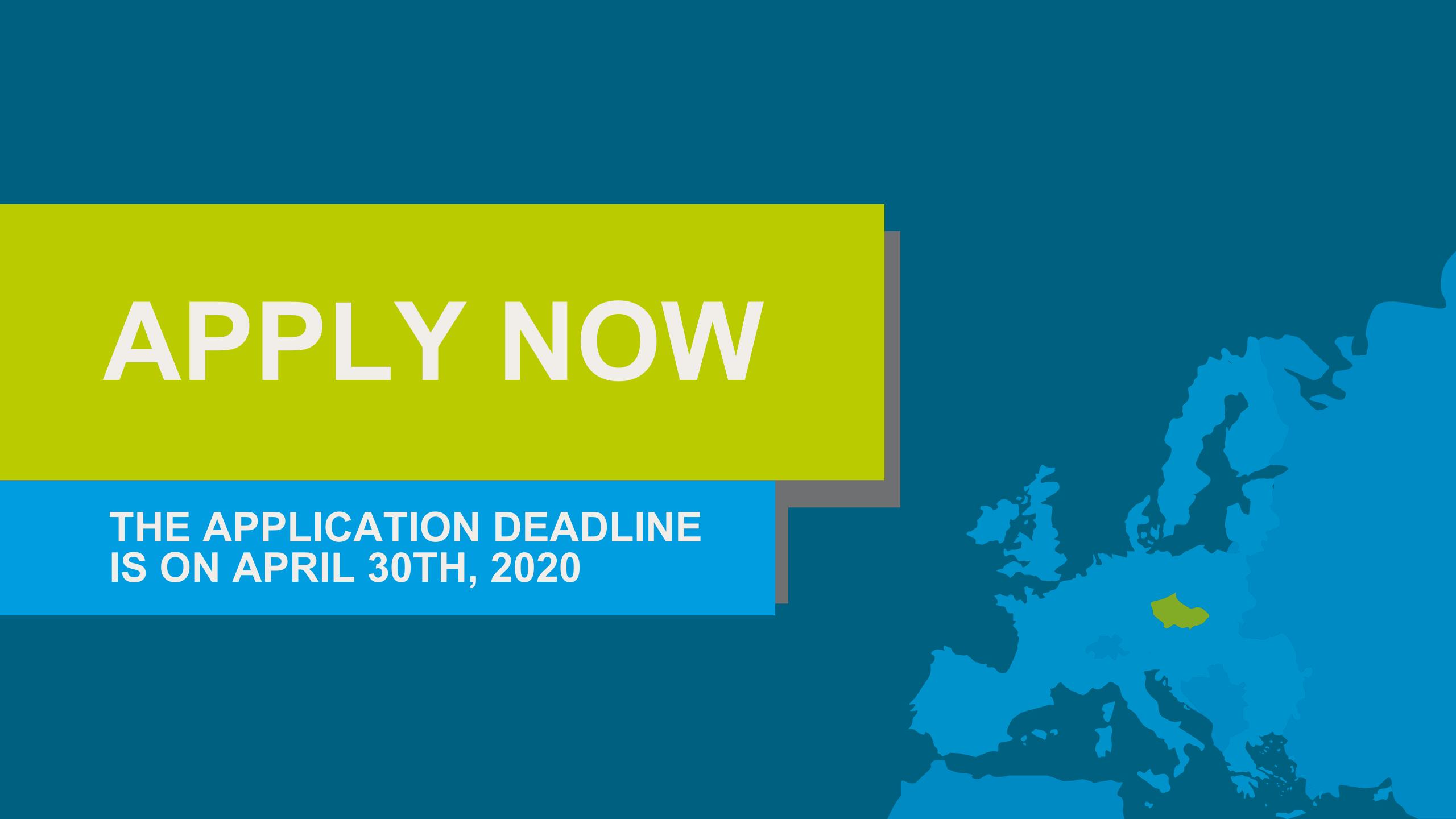 MIMG Application Deadline on April 30