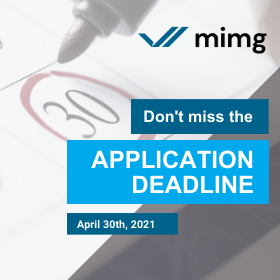 Don't Miss the Application Deadline (April 30th)