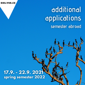 Additional Application Period for Exchange Programme Abroad in Spring Semester 2022